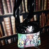 Черная маленькая сумка Школа Монстров