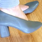 Кожаные туфли M&S новые 6,5 р. Сток. 26,5 см стелька