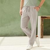 Отличные мужские льняные брюки Livergy Германия размер 54