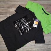 Новая партия! Футболки футболка на мальчика 2 шт размер 86-92 см