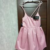 Фирменное новое красивое платье цвета розовой пудры р.12-14.