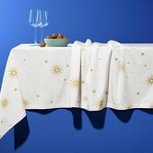 Шикарная, праздничная скатерть от Tchibo (Германия), 150x275см