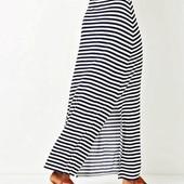 Красивая и легкая макси юбка в полоску Primark.
