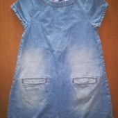Mini club. Джинсовое платье. На 3-4года, на рост 98-104