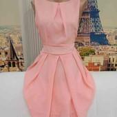 Обалденное лёгкое шифоновое платье, размер М-L