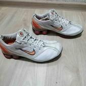 Кожаные кроссовки/Унисекс /Nike /38размер!!!