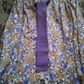 Женская шелковая блузка большого размера