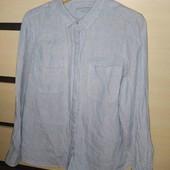 Рубашка лен от M&S 16 р евро