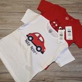 Польша! Cool club! Модные футболки футболка для мальчика! Размер 92 см рост 2 шт