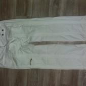Лёгкие женские спортивные белые брюки