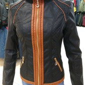Куртка женская демисезонная кожзаменитель 48-50/хл Распродажа