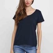 Котоновая футболка Esmara M evro 40 /42+6 синяя