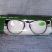 Качественные и легкие очки +1,5 для чтения. Auriol Германия