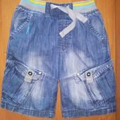 Next, джинсовые шорты, для мальчика, на 1,5-2 года, на рост 92