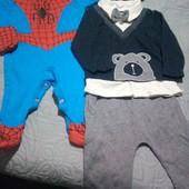 Детские костюмчики на возраст 3-4 месяцов.