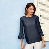 Стильная женская блуза от esmara ( lyocell) рукав 3/4.германия.евро размер S 38 наш 44-46р.