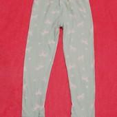 Піжамні штани з єдинорогом на 6-7 років. Коттон