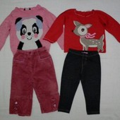 Пакет вещей для девочки 1 -2 года