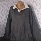 Marks Spencer Мужской свитер обманка. Размер 62