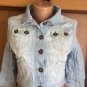 Куртка, пиджак джинсовий р. М, River Island