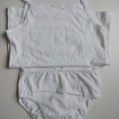 Комплект белого белья девочке