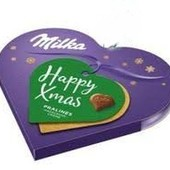 Швейцария.Конфеты I Love Milka happy xmas
