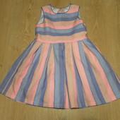 Нарядное платье на девочку,состояние отличное