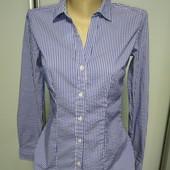Люкс !Рубашка H&M р.44-S оч.хорошего сост