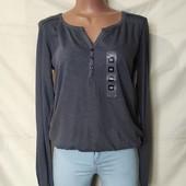 Коттоновая блузочка с кружевом,Takko(Германия)xs/s/m
