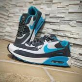 Кроссы Nike Air Max Натуральная кожа, текстиль