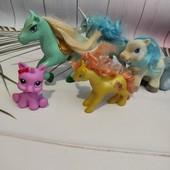 5 разных фигурок лошадок-одним лотом!