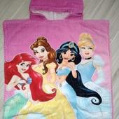 Полотенце пончо для девочки