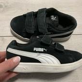 Замшевые кроссовки Puma оригинал 28 размер стелька 17,5 см