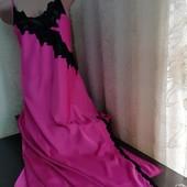 """Шикарна надзвичайно красива нічна сорочка від """"Janet Reger"""". Чудовий стан. Розмір 14-16"""