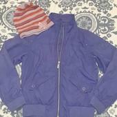 Куртка ветровка на 12-14лет
