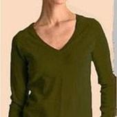 Мягенький хлопковый пуловер. Размер S