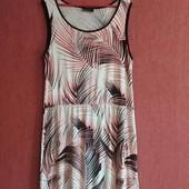Лёгкое летнее трикотажное платье из вискозы Yessica