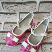 Туфли детские ! Яркие !!!цена_ блиц!