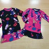 Мягкое и приятное к телу платье на прохладные погоды! Цвет на выбор!!