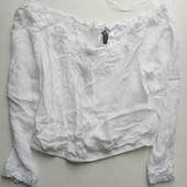 Топ блуза с открытыми плечами