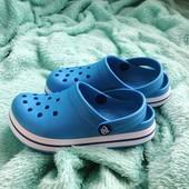 Детские кроксы. Сабо. Летняя обувь. Клоги, размер 33-21,0см