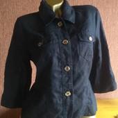 Лен/ Biaggini/пиджак/рубашка