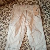Нові фірменні тоненькі штанішки для дівчинки, 10% знижка на УП