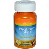 """""""Идеальное железо"""" для поднятия гемоглобина, 50 мг, 60 таблеток, Америка"""