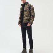 мужская стильная объемная куртка от sinsay
