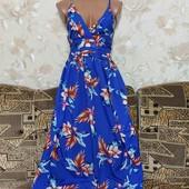 Красивое длиное женское платье Mela Loves London, размер С