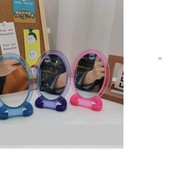 Супер зеркало настольное для макияжа овальное!! Не бьется, не искажает, долговечно в использовании!!