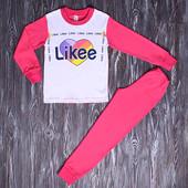 Пижама Likee размеры 110-134