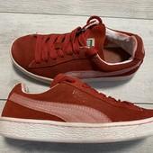Замшевые кроссовки Puma 36 размер стелька 22,5 см