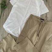 Мужская рубашка и брюки. Размер m. В хорошем состоянии.